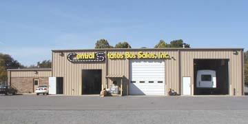 Blue Bird bus company in Little Rock AR