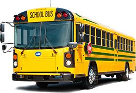 Blue Bird All American Rear Engine CNG school bus