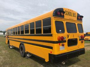 used all american school bus