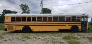 rear engine school bus