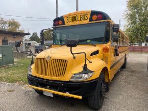 used international school bus